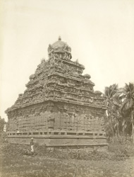 South-east view, Matangesvarasvami Temple, Great Conjeeveram, Chingleput District